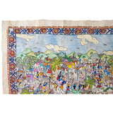 Mi Pueblo / Amate Paper Mexican Folk Art Painting Frame