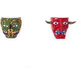 Coleccion de Mascaras Michoacan / Woodcarving Mexican Folk Art Mask