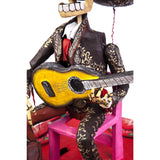 El Mariachi / Mexican Mechanical Folk Art Carton Sculpture