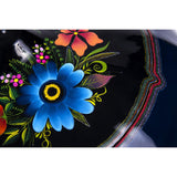 Costurero Azul / Lacquer Mexican Folk Art