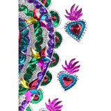 Corazon Frenesi / Tin Mexican Folk Art
