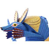 Armadillo / Woodcarving Alebrije Mexican Folk Art Sculpture