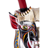Mascara Diablo Vida y Muerte / Woodcarving Mexican Folk Art Mask