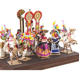 Danzas y Costumbres / Vegetable Fibers Mexican Folk Art Miniature