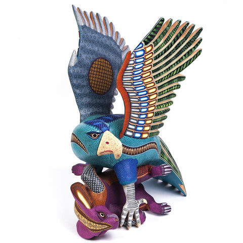 Espiritu Indomable / Woodcarving Alebrije Mexican Folk Art Sculpture