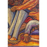 La Trinchera de Jose Clemente Orozco / Vegetable Fibers Mexican Folk Art Straw