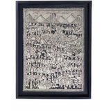 Vista de Xalitla / Amate Paper Mexican Folk Art Painting Frame