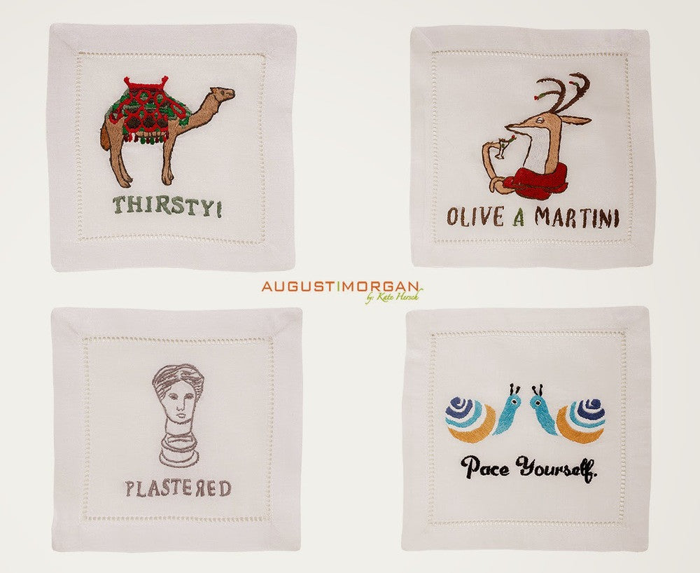 WHAT KIND OF AUGUST MORGAN COCKTAIL NAPKIN ARE YOU?