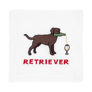 LABRADOR RETRIEVER COCKTAIL NAPKINS