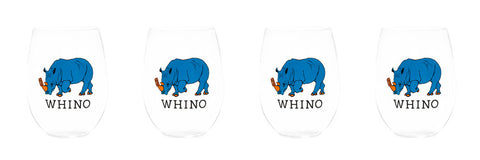 WHINO STEMLESS WINE GLASSES