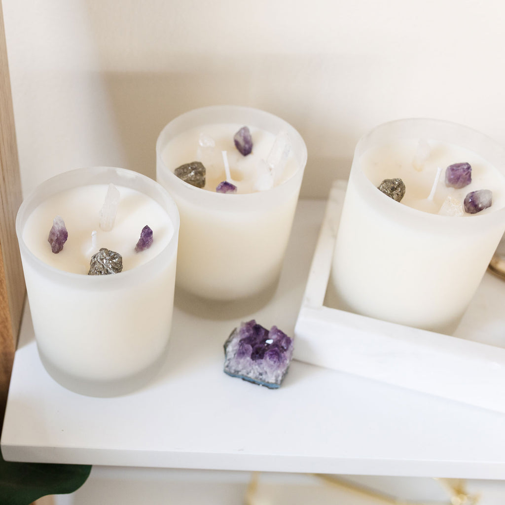 DIY Hidden Gem Candle