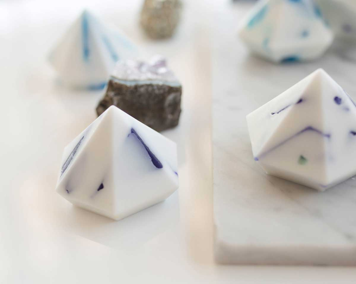 Dani Barbe DIY Gemstone Soap Tutorial