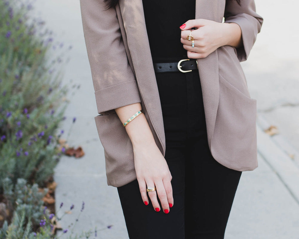 Dani Barbe Taupe Tones for Fall