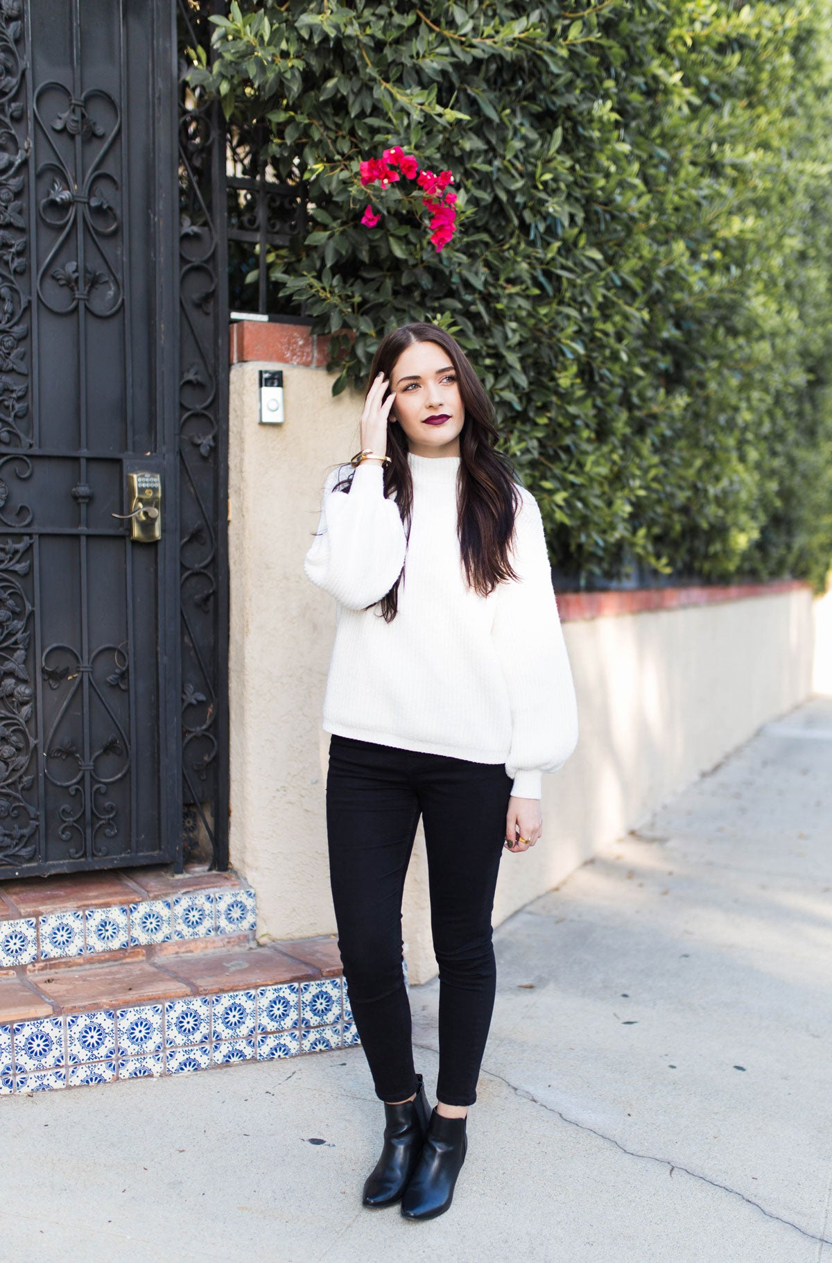 Dani Barbe Thanksgiving Outfit Post