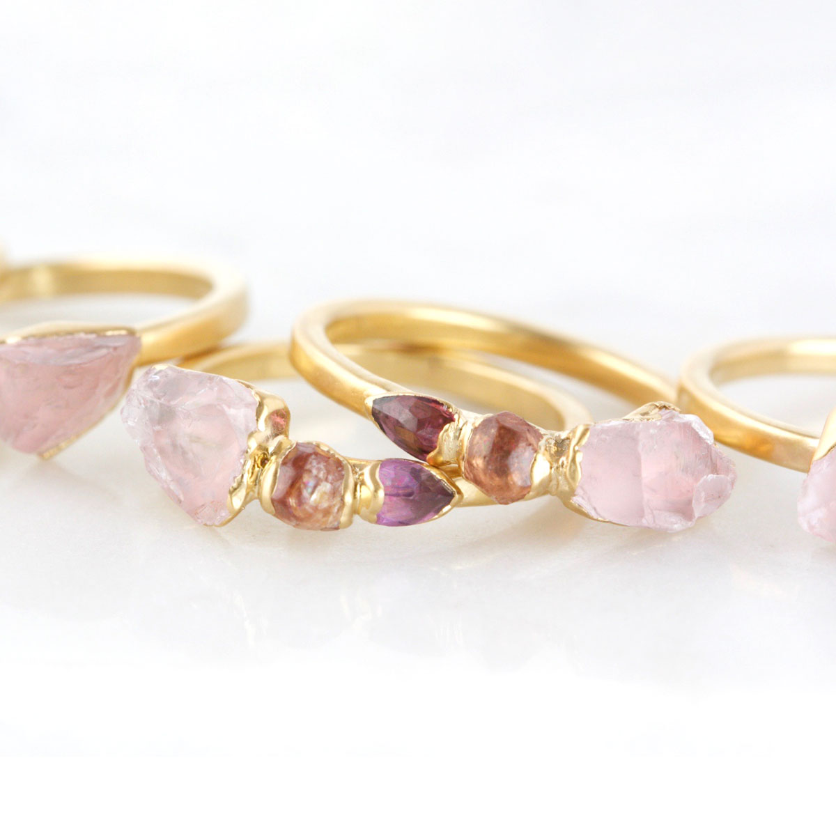 Dani Barbe Unique Gemstones Morganite Jewelry