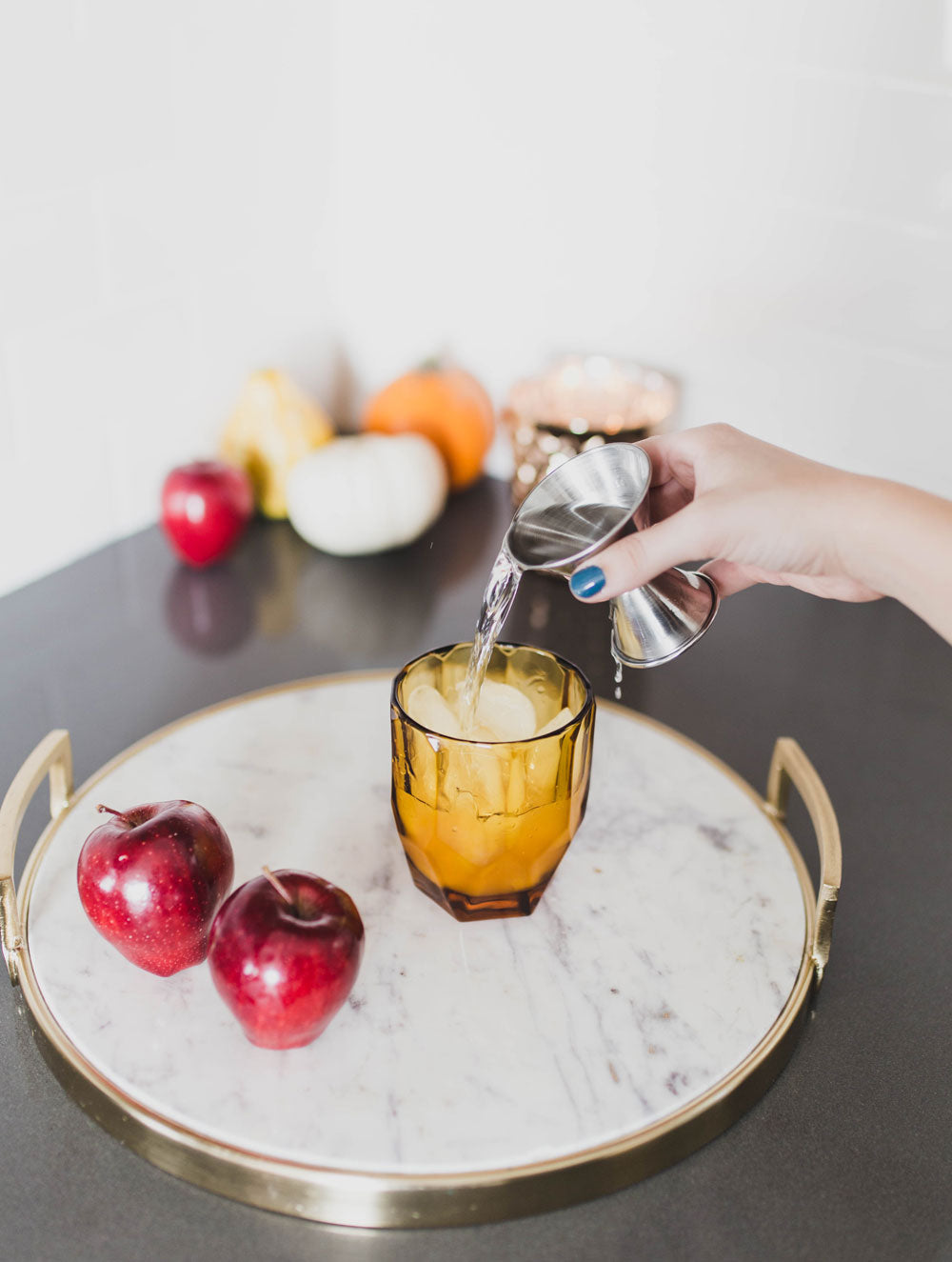Dani Barbe Harvest Cocktail Recipe with Apple Cider