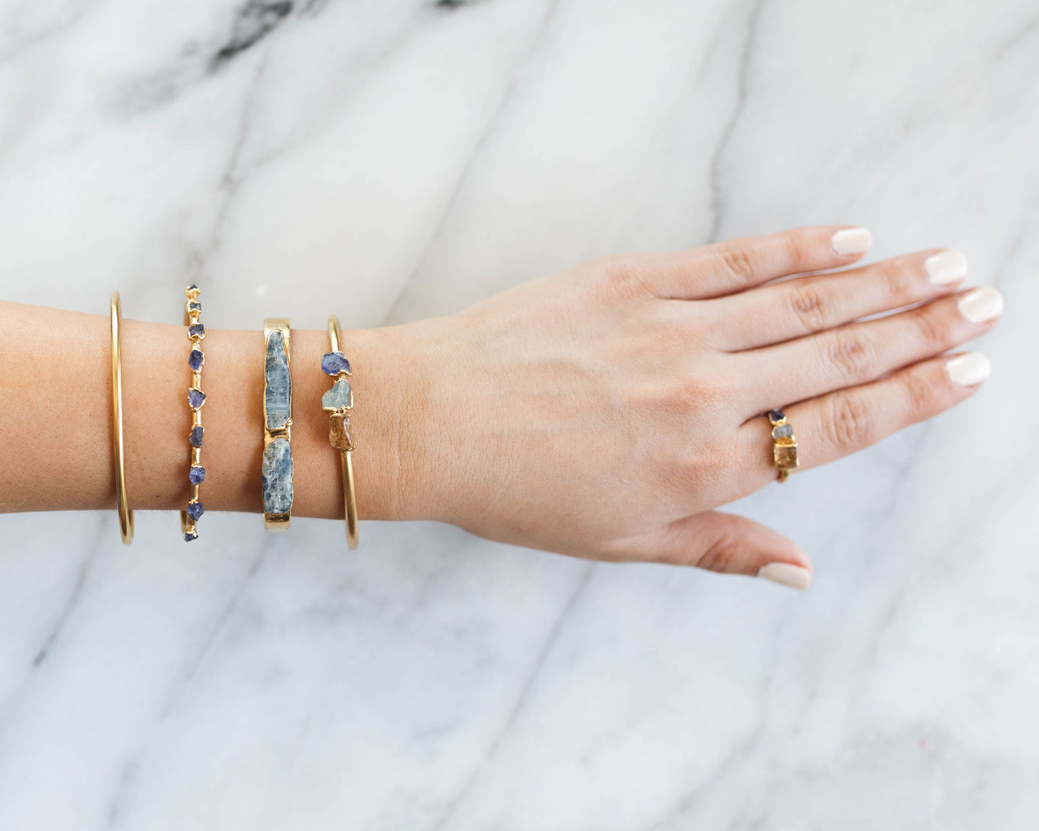 Dani Barbe Stacking Bracelets
