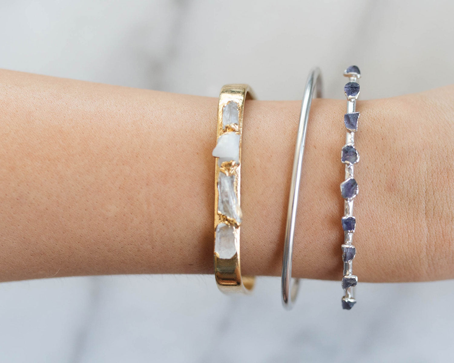 How to Stack Bracelets