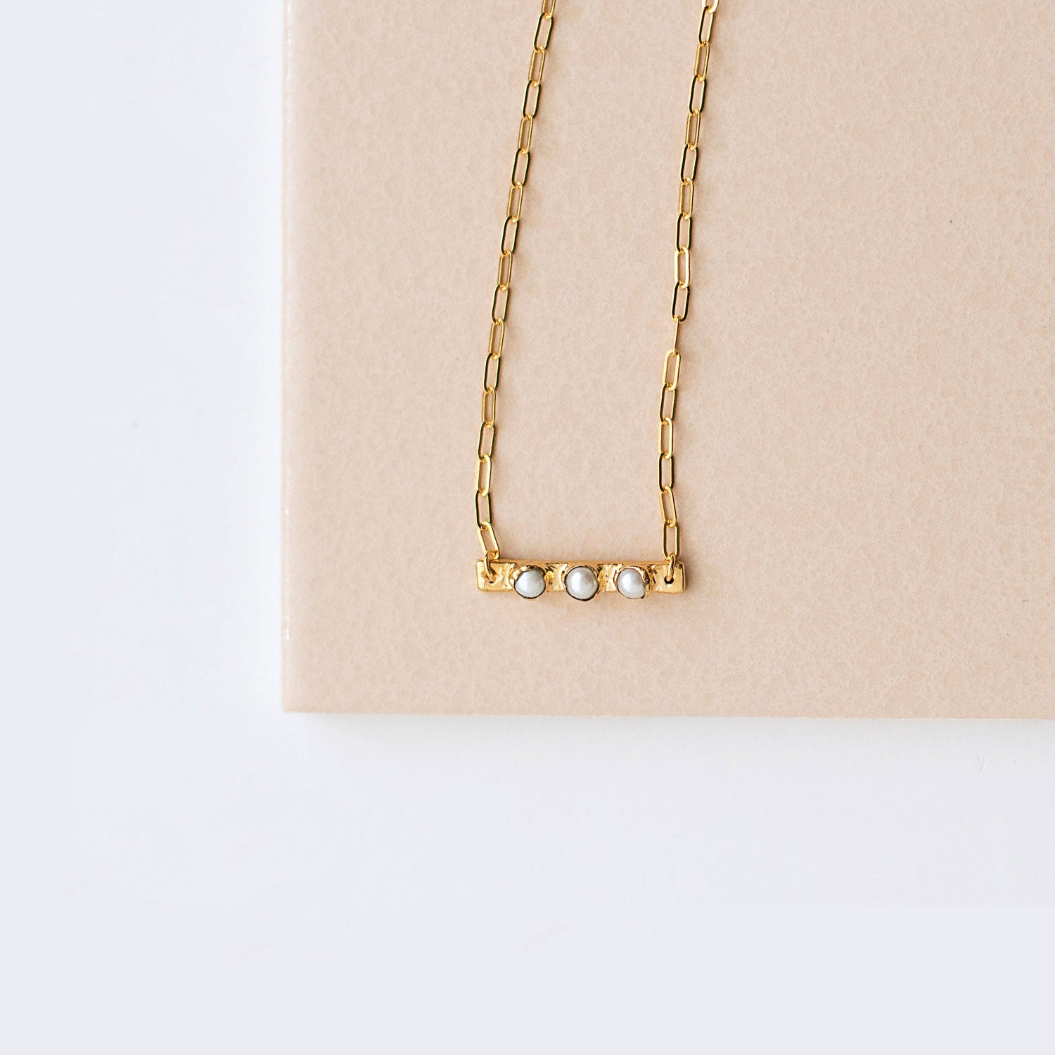 Gemini Birthstone Necklace