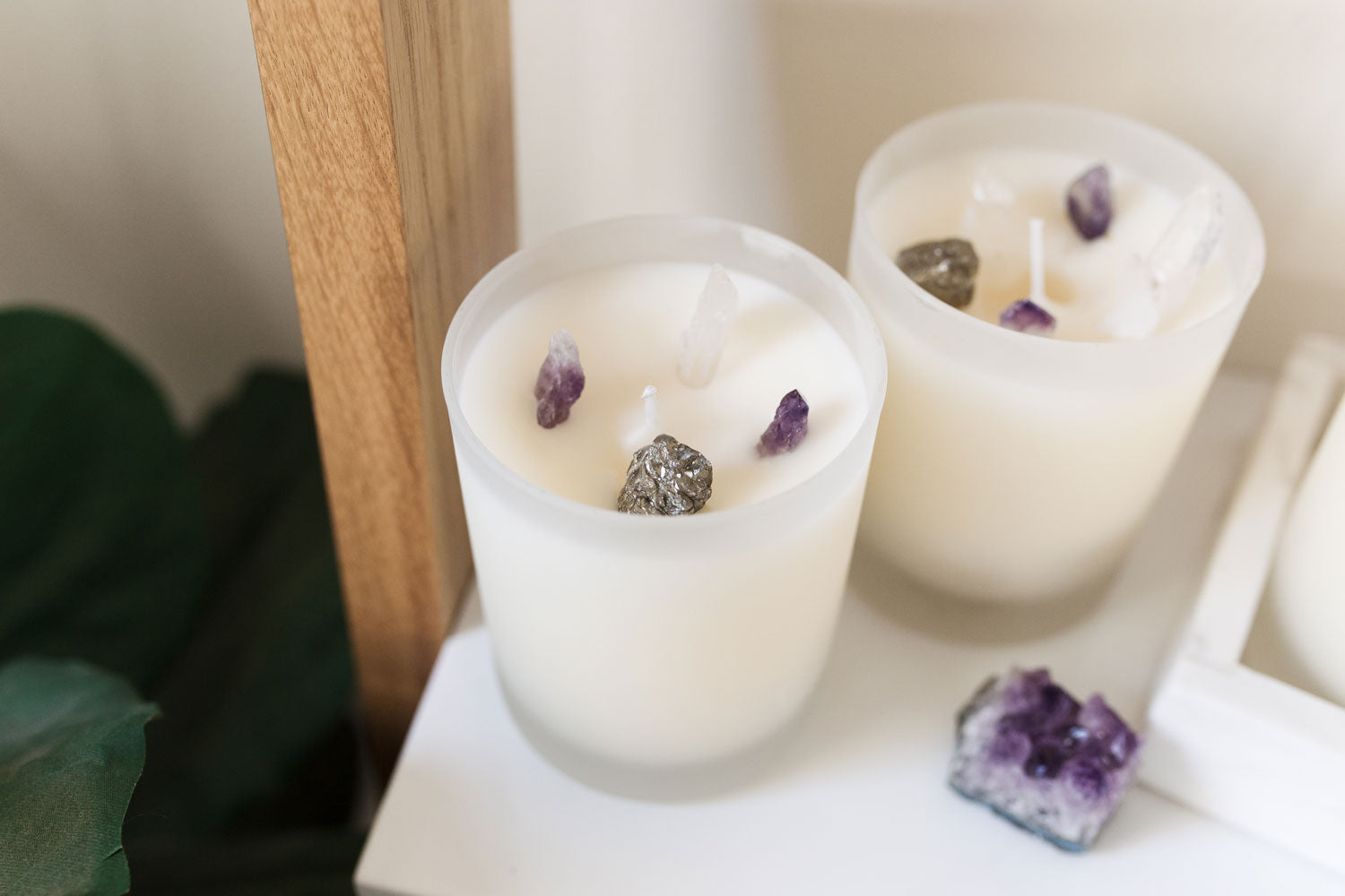 Gemstone Candle DIY