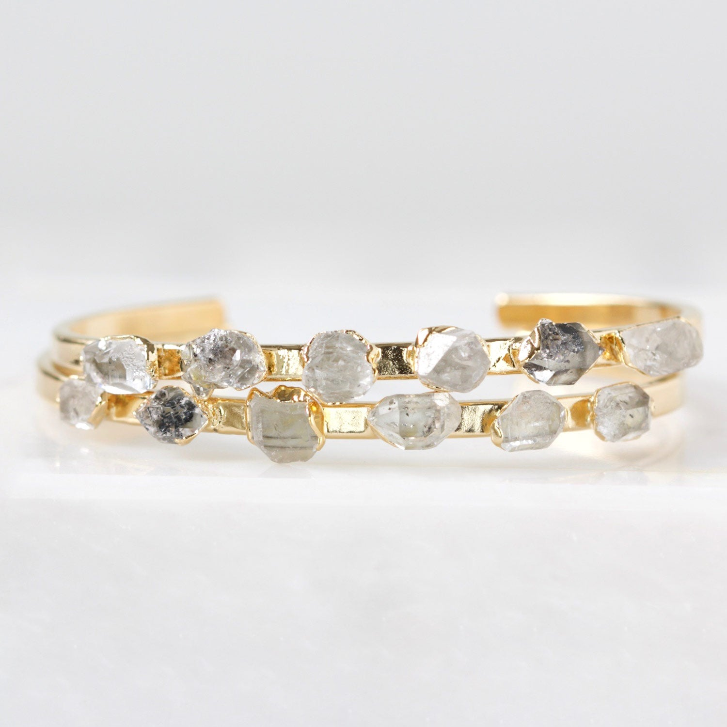 Herkimer Diamond Cuff Holiday Gift for Best Friend