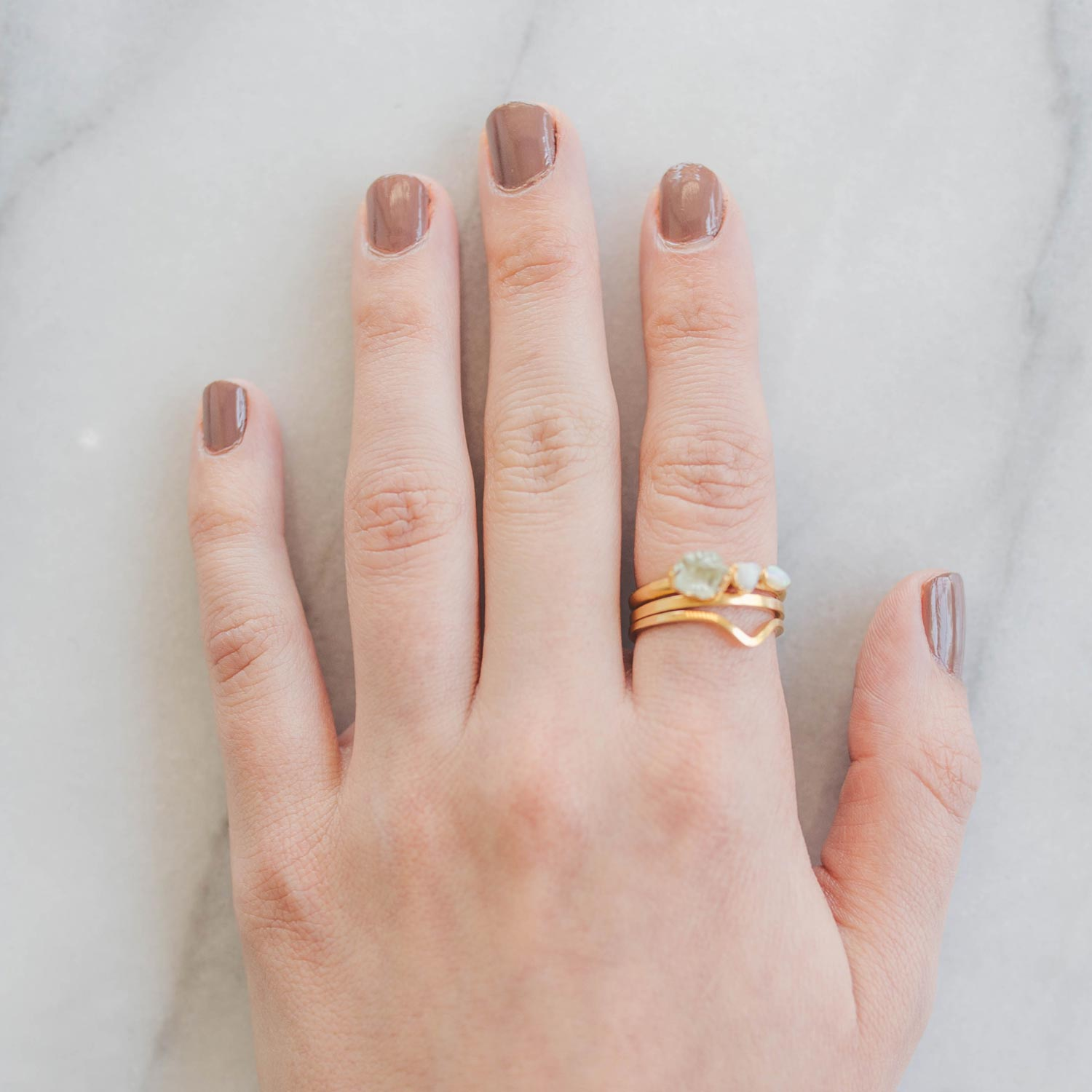 Stacking Rings Tutorial Step Two