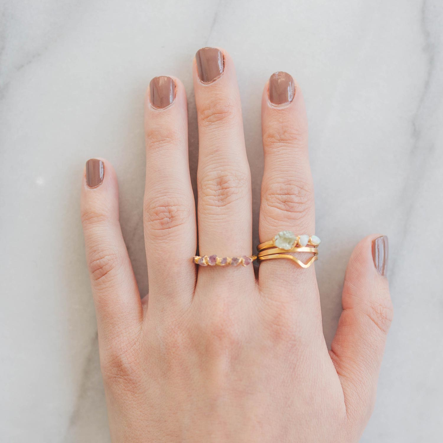 Stacking Rings Tutorial Step 3