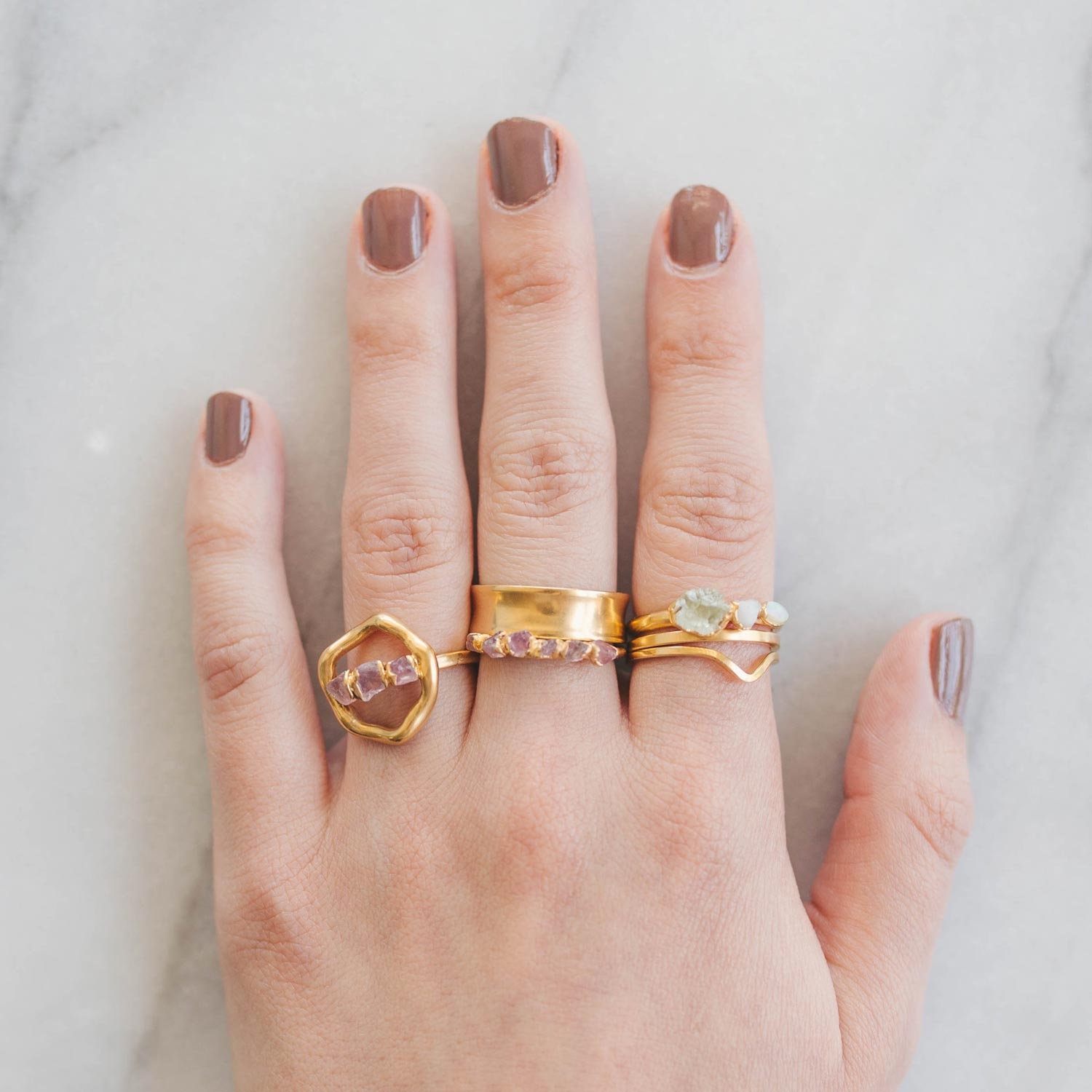 How to Stack Rings Tutorial