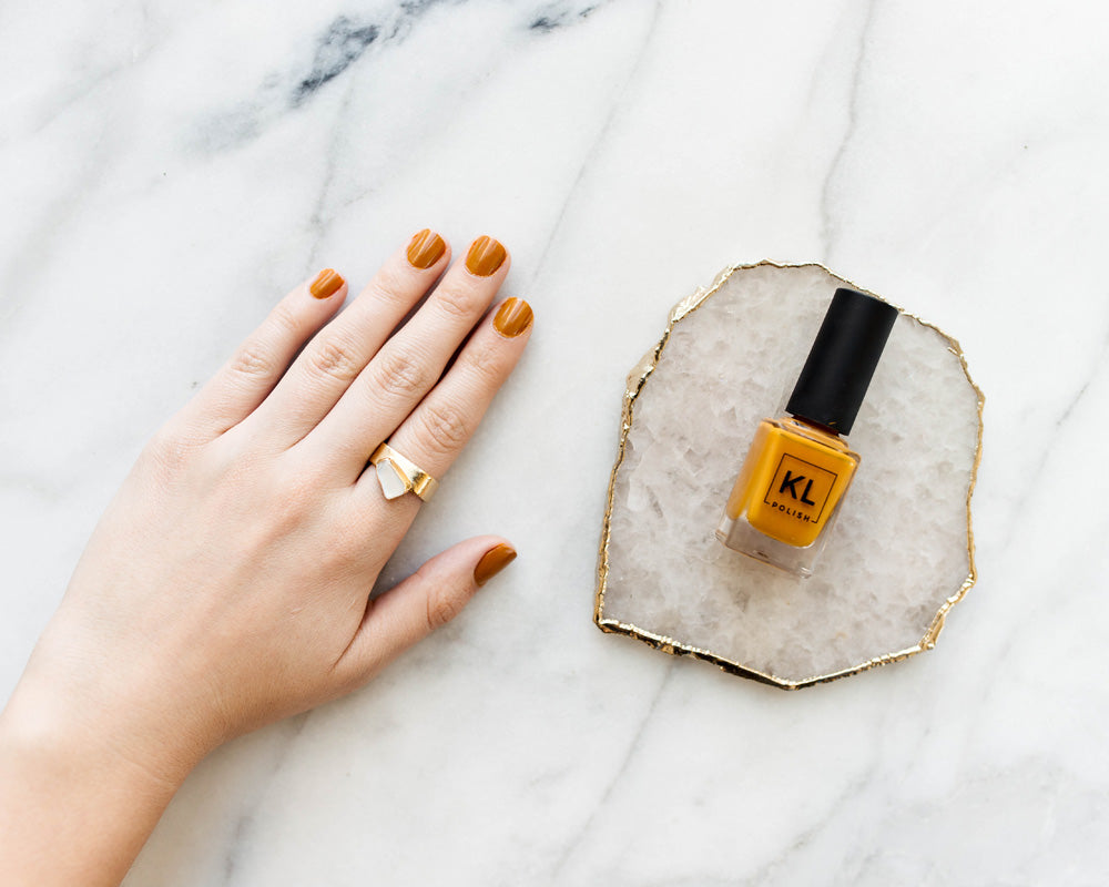 Dani Barbe Favorite Fall Nail Polish