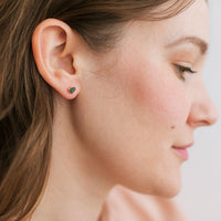 Double piercing earrings