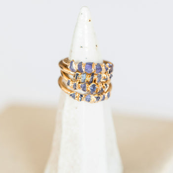 Iolite Whisper Ring