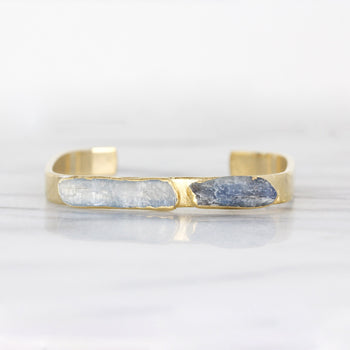Kyanite Square Cuff