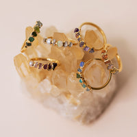 Ombre Birthstone Rings by Dani Barbe