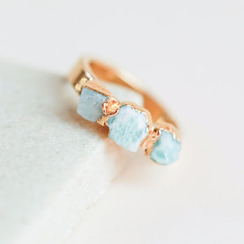 Amazonite Stacking Ring