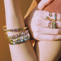Raw Gemstone Bracelets
