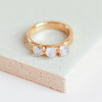 Quartz Stacking Ring