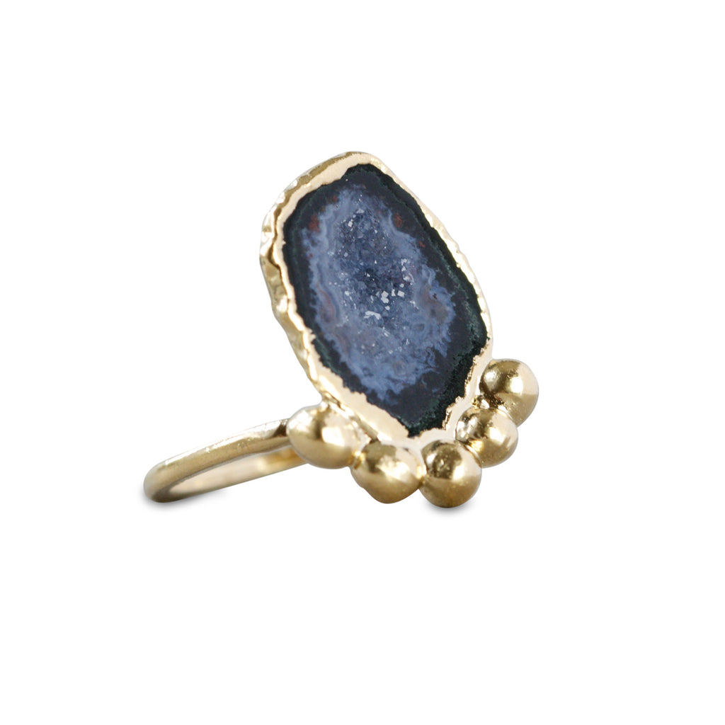 Occo Geode Ring