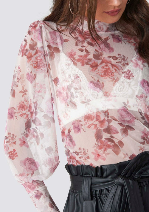 Blouse flower Jill