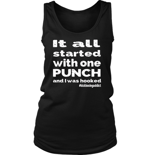 Kickboxing Ladies Tank top - Various Colors Available