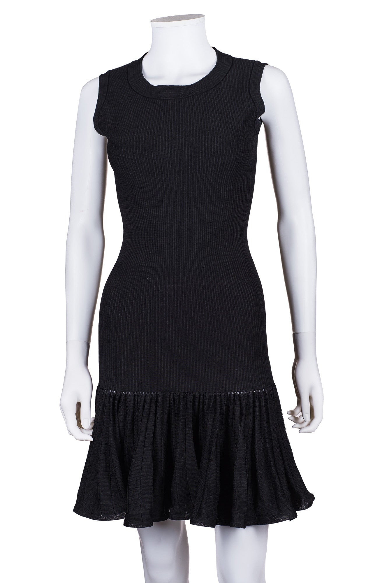 ALAÏA Fit and Flare Dress