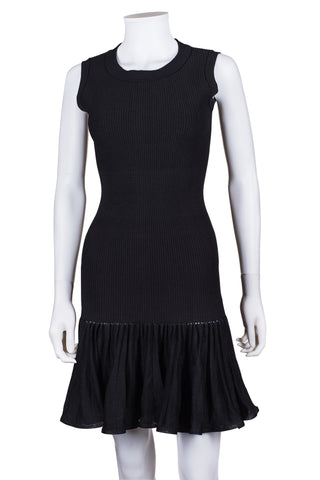 BELSTAFF Mason Paneled Leather Mini Dress