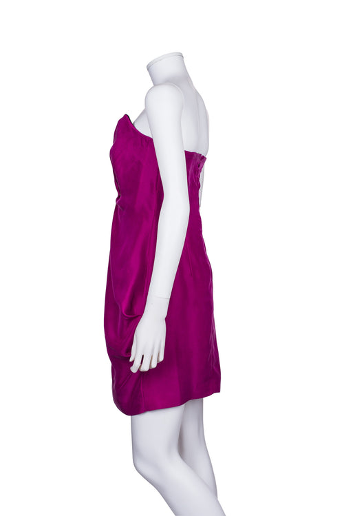 REISS Mini Bodice sleeveless dress