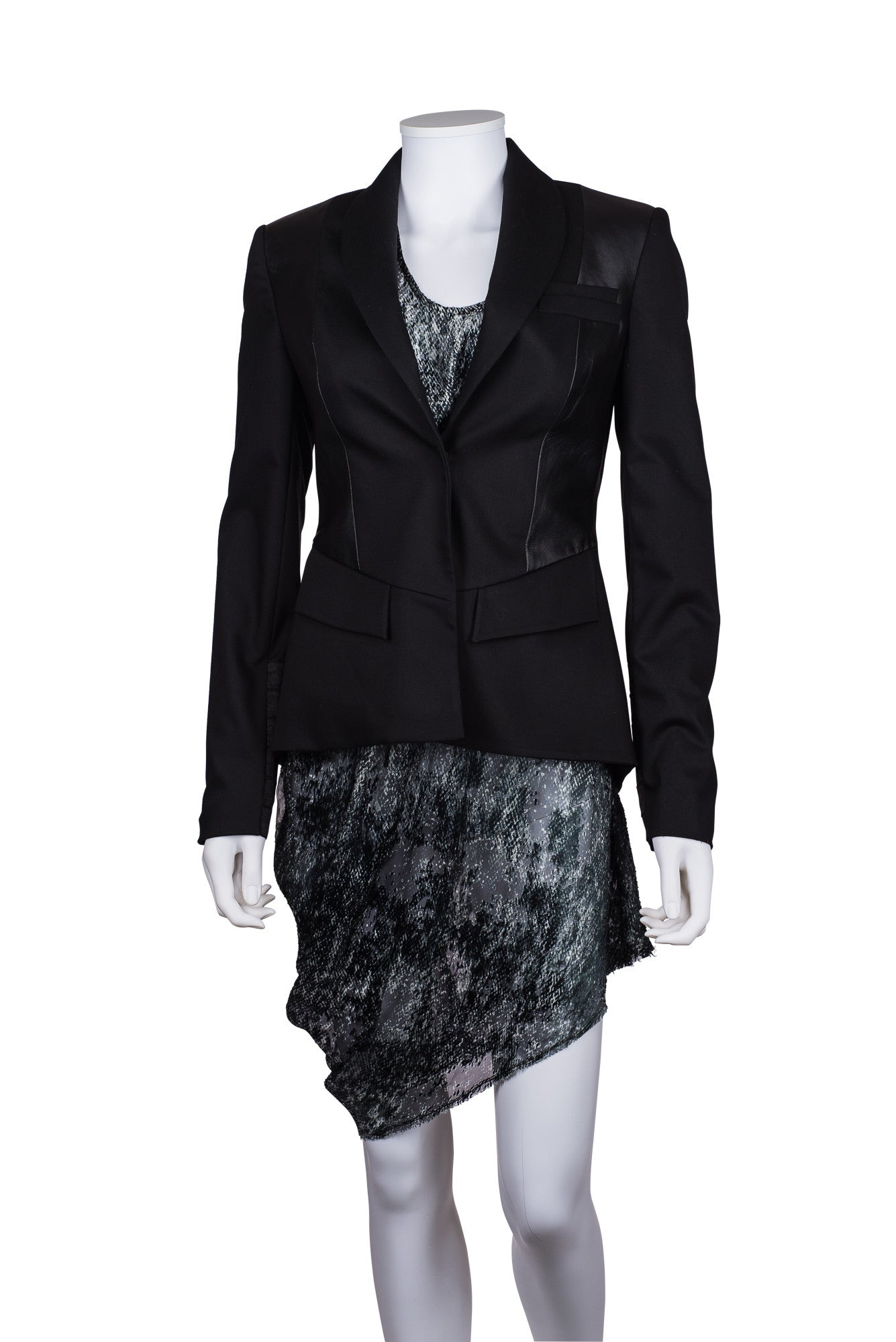 ALICE + OLIVIA Fitted Blazer