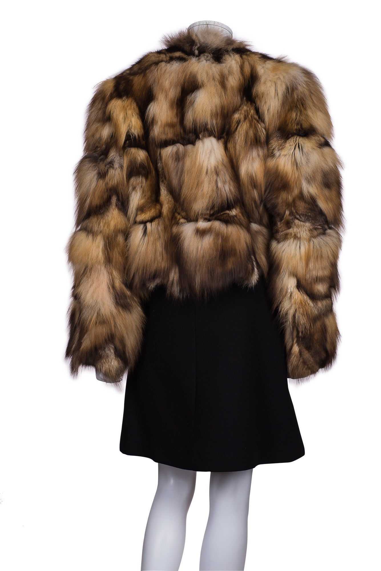 BLUE DUCK Fox Fur Jacket