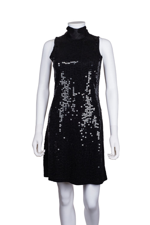PINKO Sequin Sleeveless Dress