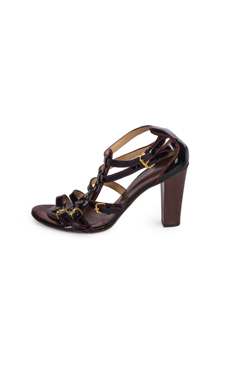 GIUSEPPE ZANOTTI DESIGN Gladiator Leather Sandal