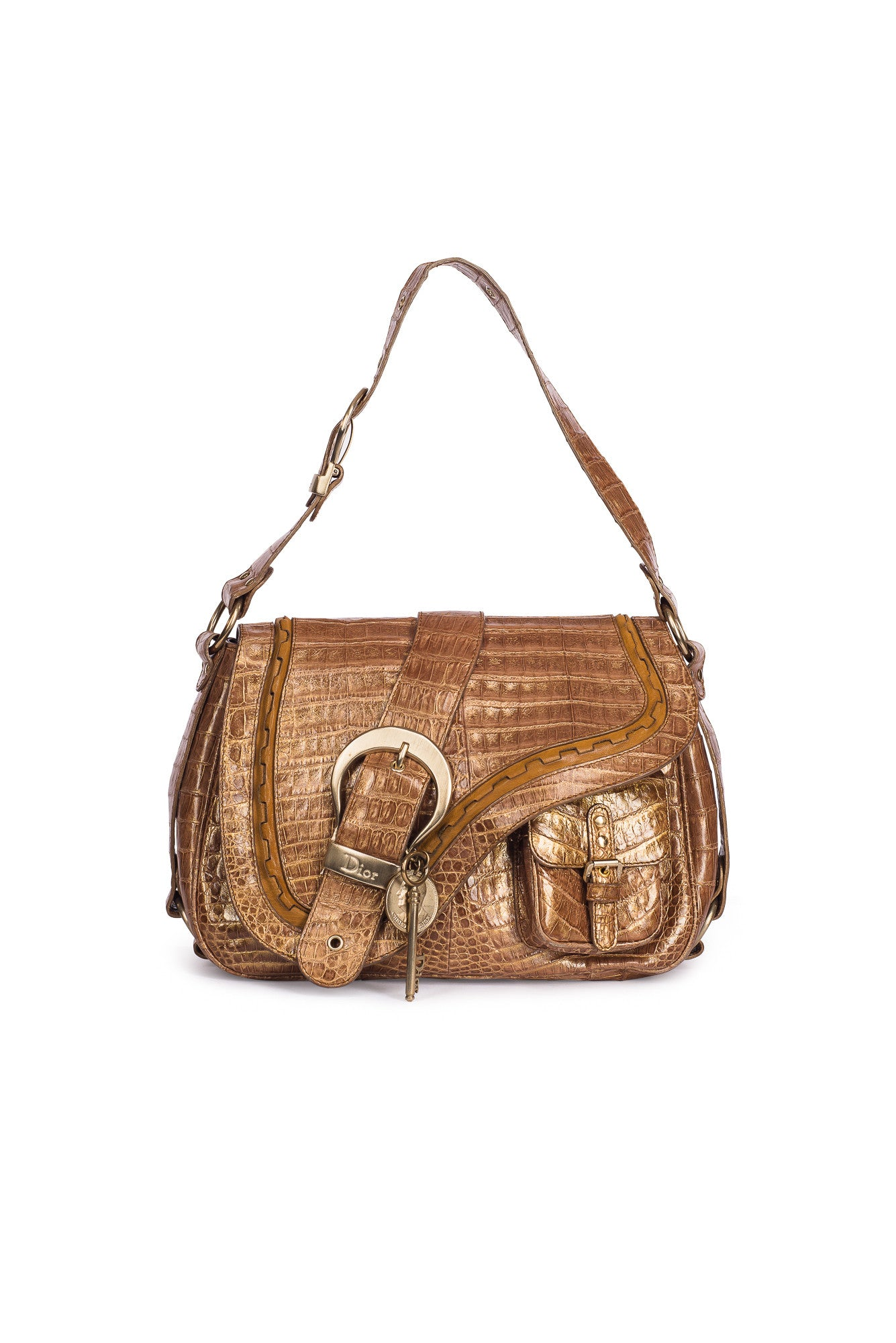 CHRISTIAN DIOR  Crocodile Vintage Bag