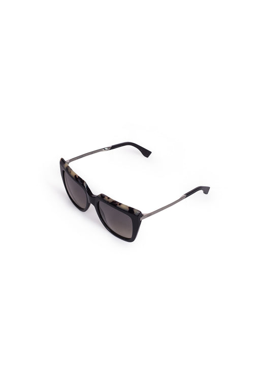 FENDI Tortoiseshell Square Sunglasses