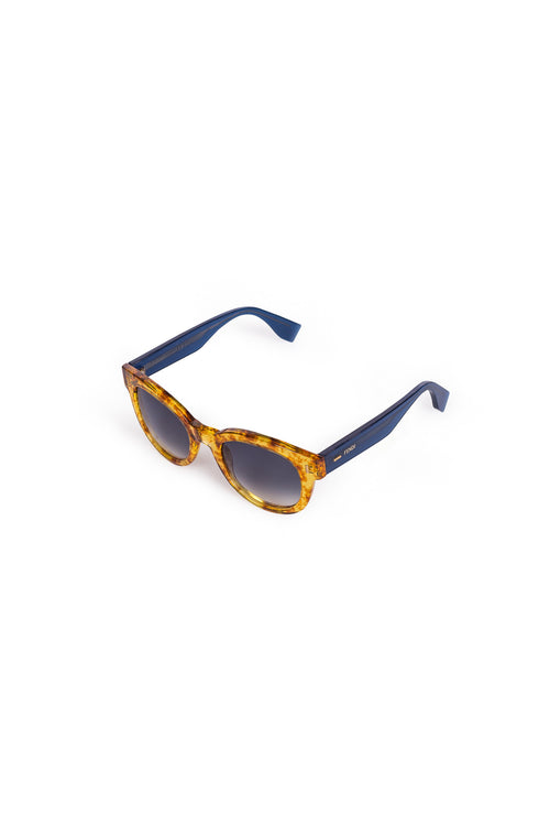 FENDI Tortoiseshell Resin Sunglasses