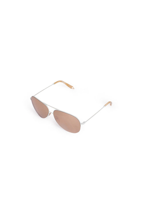 VICTORIA BECKHAM  Mirrored Aviator Sunglasses